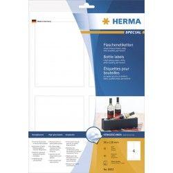 Etykiet błyszczące 8882, A4, 90 x 120 mm., papier błyszczący, 40 szt.