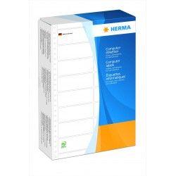 Etykiety komputerowe - składanka, 8220, papier biały matowy, 88,9 x 35,7 mm, 8000 szt.