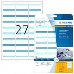 Etykiety 4513 materiałowe samoprzylepne, 63,5 x 29,6 mm