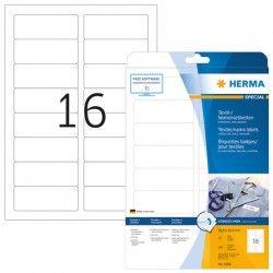 Etykiety 4588 materiałowe samoprzylepne, 88,9 x 33,9 mm, 160 szt. mm, 540 szt.